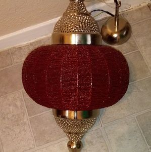 Other - 2 beautiful moracan beaded hanging lamps